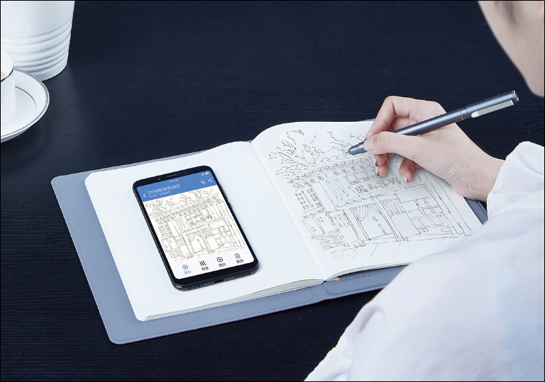 Xiaomi Crowdfunds The 36notes Smart Handwritten Notepad Estimated At 249 Yuan (~)