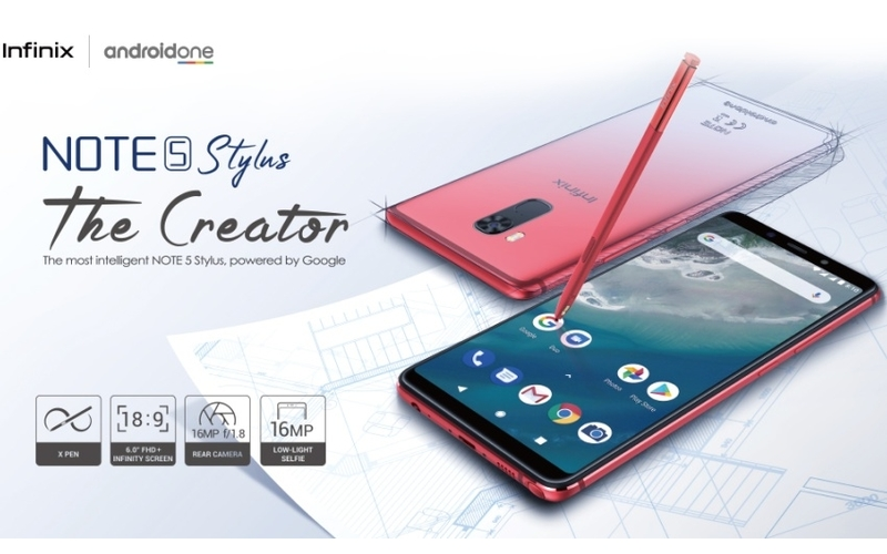 Infinix Note 5 Stylus Android One Cameraphone Released In India For Rs. 15,999 (7)