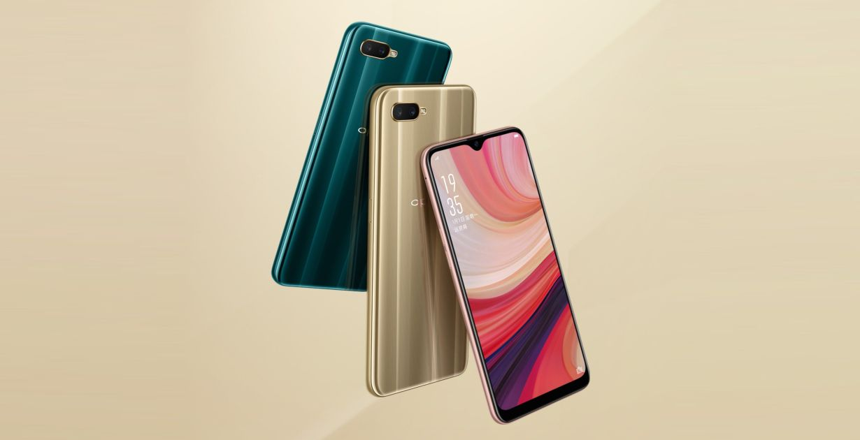 Oppo A7 Is Official With Waterdrop Notch Present, Sd450 And 4,230mah Battery In Multiple Markets