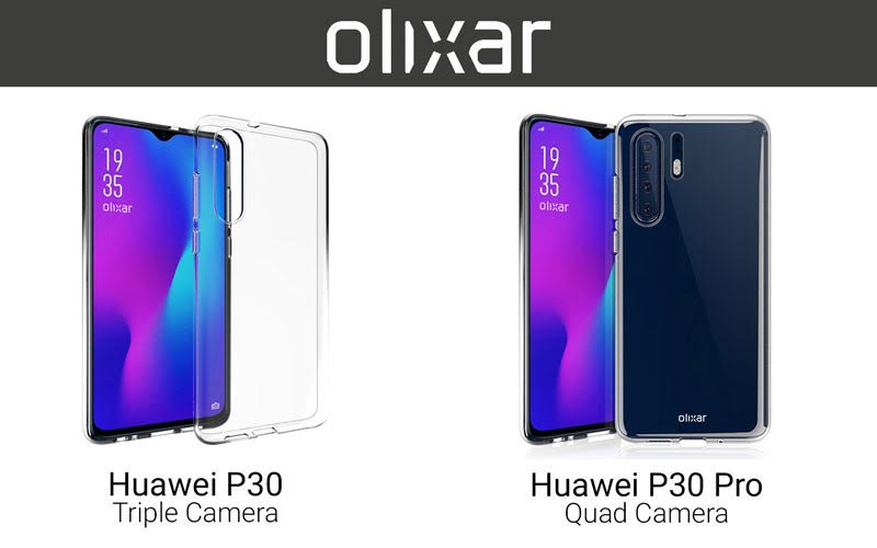 Huawei P30 And P30 Pro Skin Images Hint Triple And Quad Digital Cameras