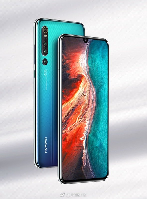 Huawei P30 Pro With Four Rear Cameras And Has 10x Optical Zoom, New Renders Show