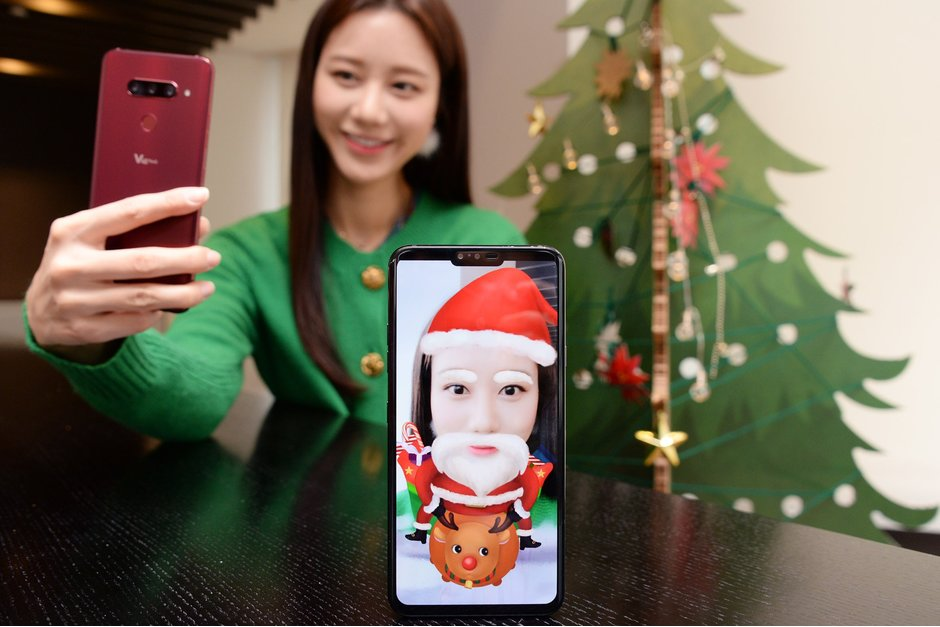 Lg Releases 10 Fresh Ar Stickers For The Lg V40 Thinq To Celebrate The Holidays