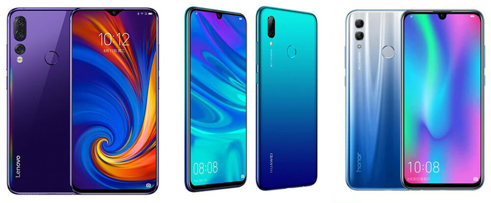 Lenovo Z5s Vs Huawei P Smart (2019) Vs Honor 10 Lite