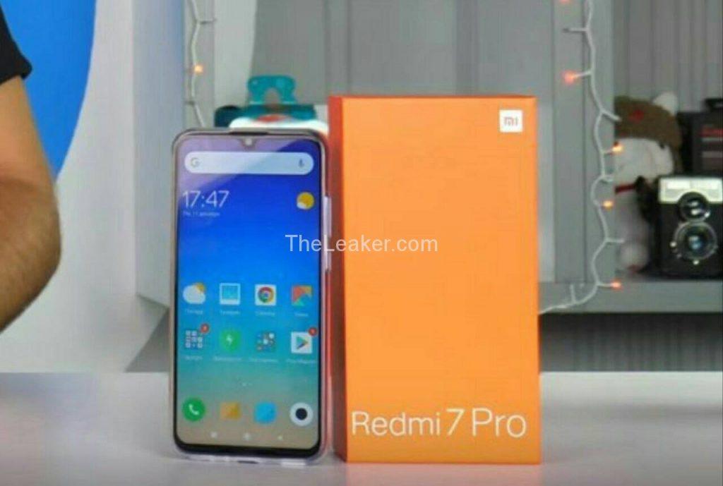 Xiaomi Redmi 7 Pro Looks In Live Photo, Has A Water-drop Notch