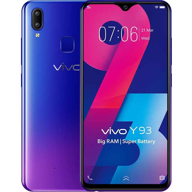 Vivo Y93 Goes Formal In India With Helio P22 And 4 Gb Ram