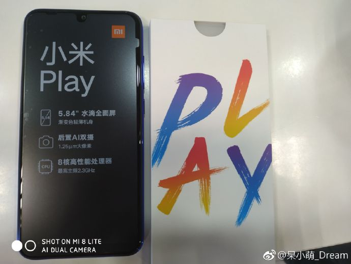 Xiaomi Mi Play Live Shot And Unboxing Video Leaked