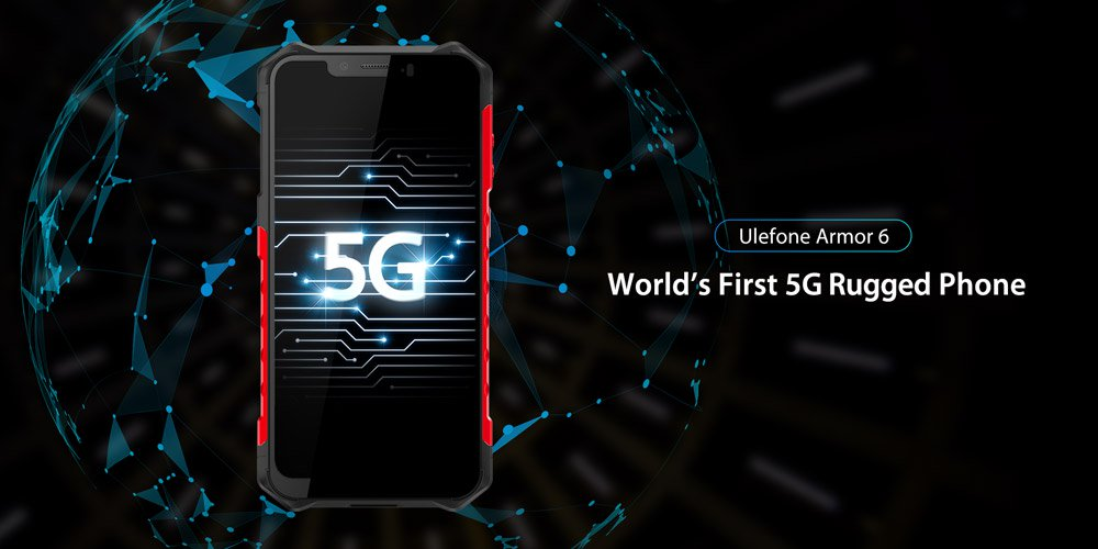 Ulefone Armor 6 Would Be The World's Initial 5g Rugged Phone