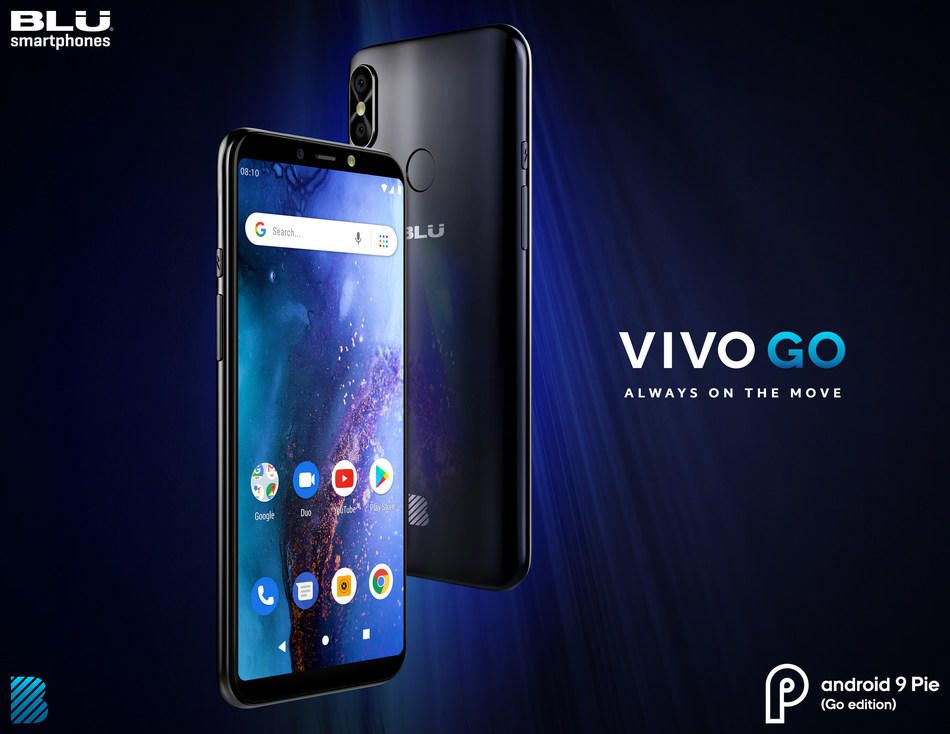 Blu Vivo Go With 6-inch Panel And Android Pie Go Edition Released For