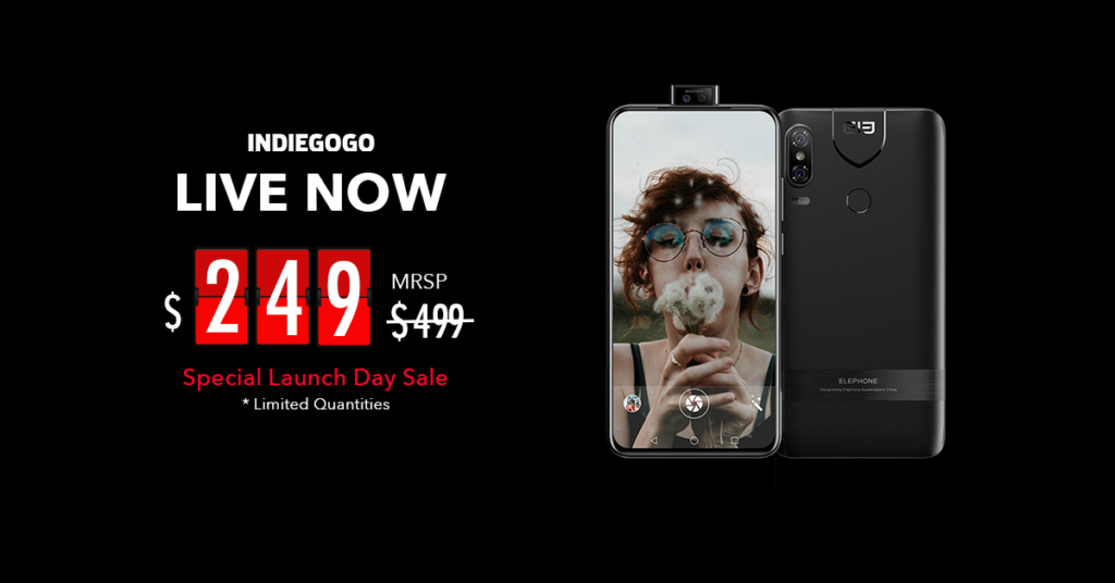 With 6.3 Inch Hd+ Panel Hits Indiegogo Shelves For 9