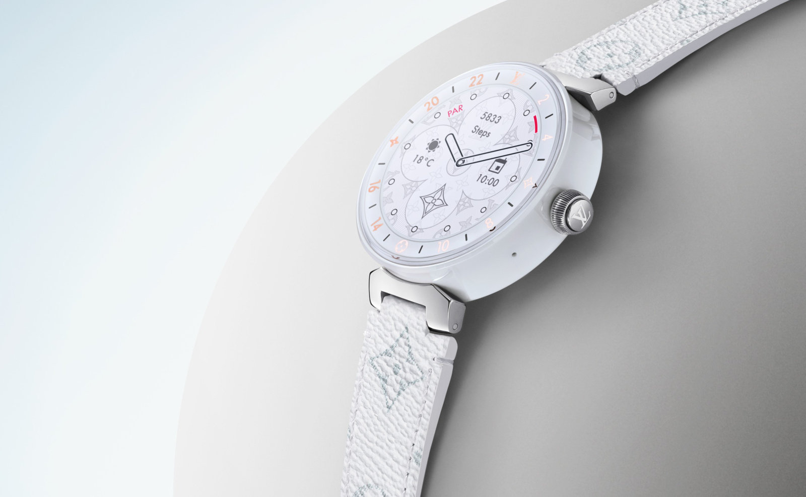 Louis Vuitton Tambour Horizon Smartwatch 2019 Edition Noted With Snapdragon Wear 3100
