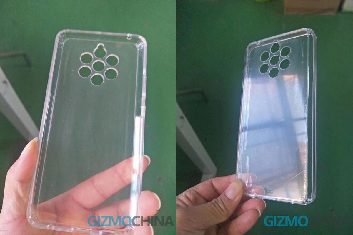 Nokia 9 Pureview Case Displays Penta-lens Setup Once Again!