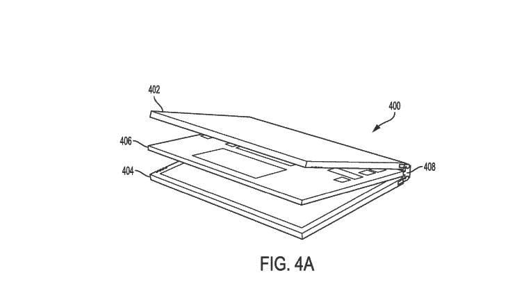 Dell Patents Laptop With Dual Panel Design