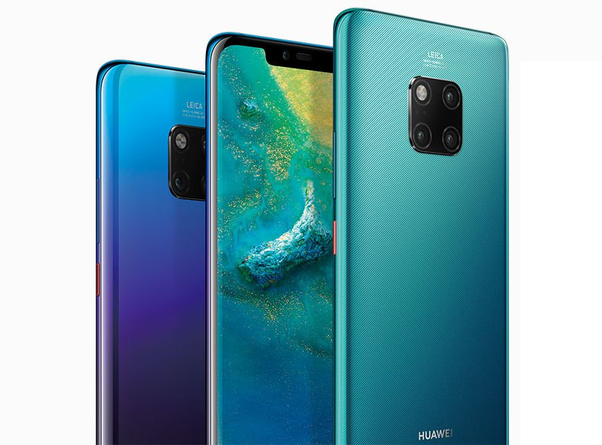 Huawei Mate 20 Pro Spotted In Two New Colours, Fragrant Red And Comet Blue
