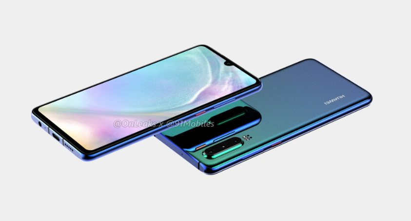 Huawei P30 360° Renders Show The Phone Will Have Three Rear Cameras And A Dewdrop Notch