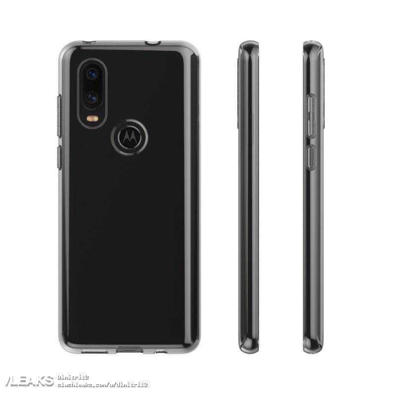 Motorola P40, Moto Z4 Play Design Flowed Out Through Case Renders