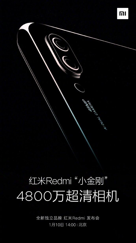 Xiaomi Displays New Teaser For Its Redmi 48mp Dual Camera Smartphone