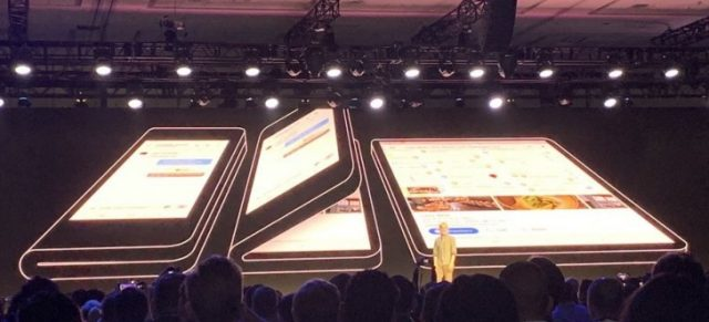 Samsung's Foldable Smartphone Showcased To Few Special Customers