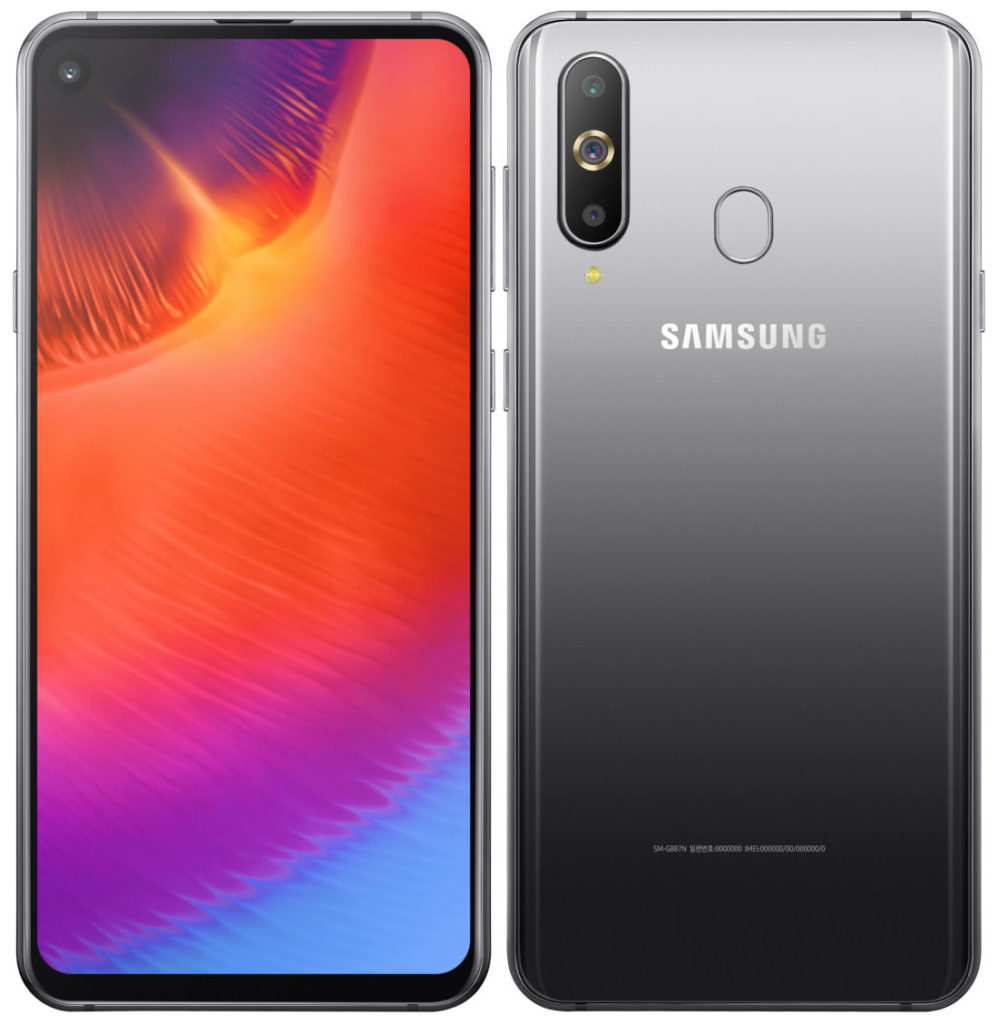 Samsung Galaxy A9 Pro 2019 With Infinity-o Panel And Sd710