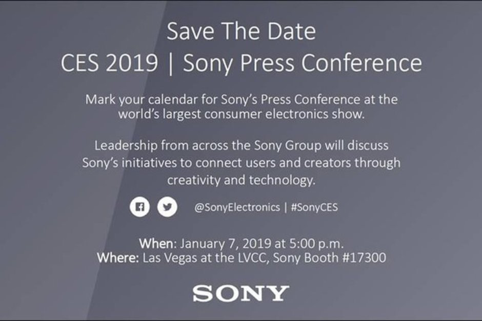 Sony Ces 2019 January 7 Event Established; Xperia Xa3 And Xperia Xa3 Ultra Could Be Launching