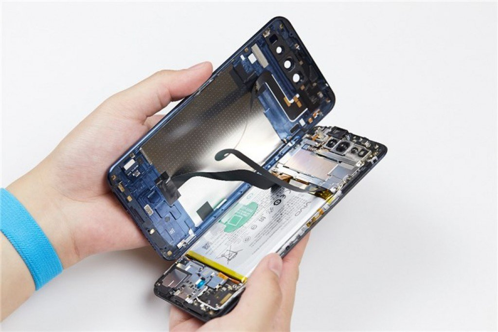 Vivo Nex Dual Display Disassemble Displays How Hard It Is To Be Repaired