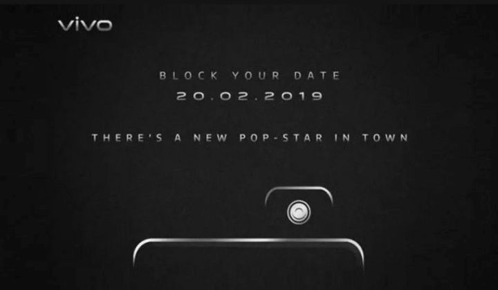 Vivo V15 Pro To Release On February 20 With Pop-up Selfie Digital Camera And Notch-less Screen