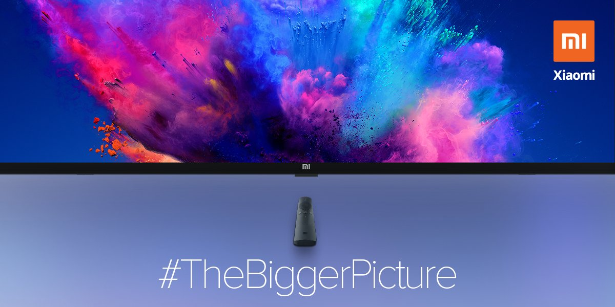 Xiaomi India Teases A Bigger Mi Led Tv Is Coming Early