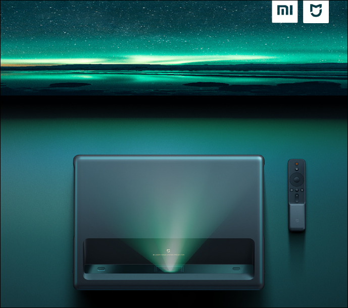 Xiaomi Mijia Laser Projector 4k Variant With 4k Resolution Launched For 9999 Yuan (00)