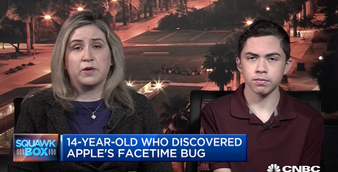 Apple To Reward A Teen Who Discovered A Bug On Group Facetime