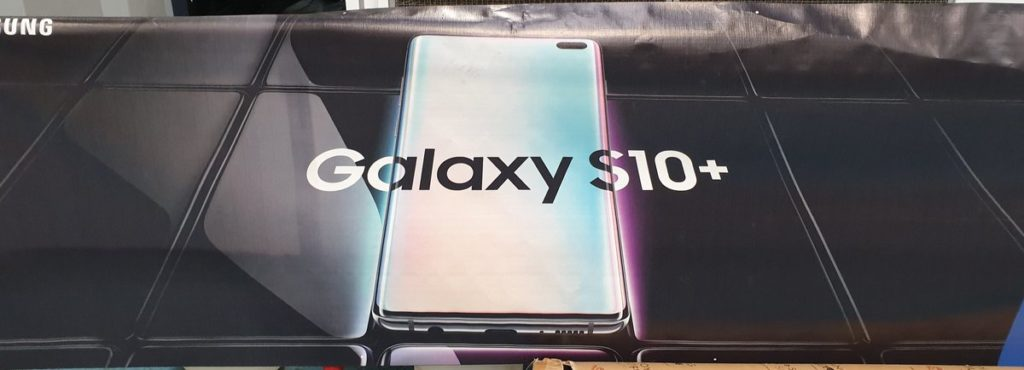 Leaked Samsung Galaxy S10+ Banner Reaffirms The Front Design