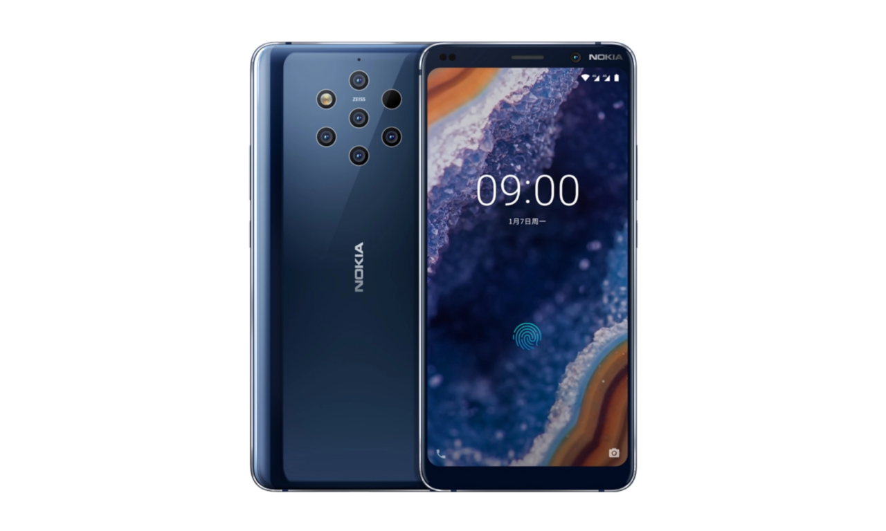 Nokia 9 Pureview With Penta-lens Option Launched – Specs