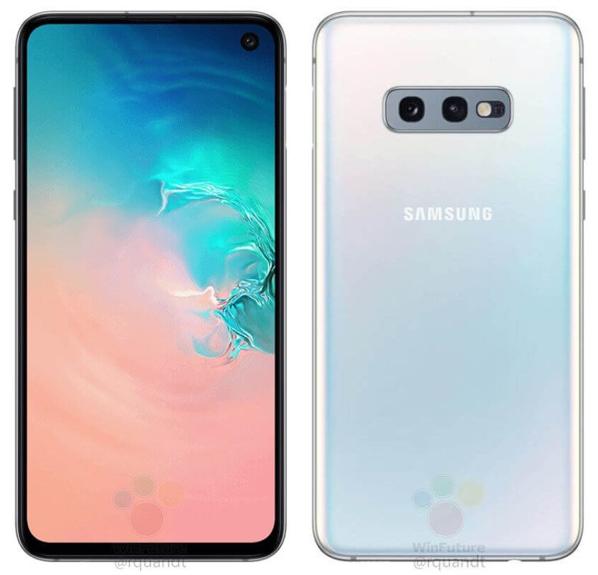 Samsung Galaxy S10e Formal Renders Flowed Out With Key Specs