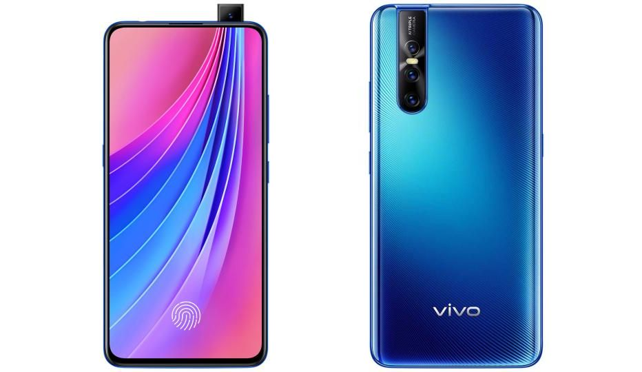 Vivo V15 Pro Goes Formal With Notch-less Display And Pop-up Selfie Camera For Rs. 28,990 (~7) In India