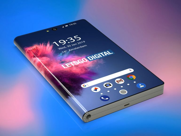 3d Renders Of The Up Coming Huawei 5g Foldable Phone