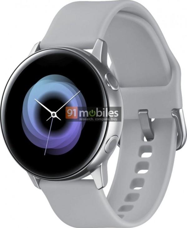 Render Of Samsung Galaxy Sport Smartwatch Leaks Exposing The Design