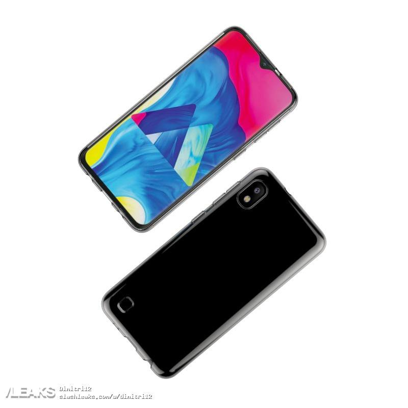 Samsung Galaxy A10 Design Flowed Out In Case Renders