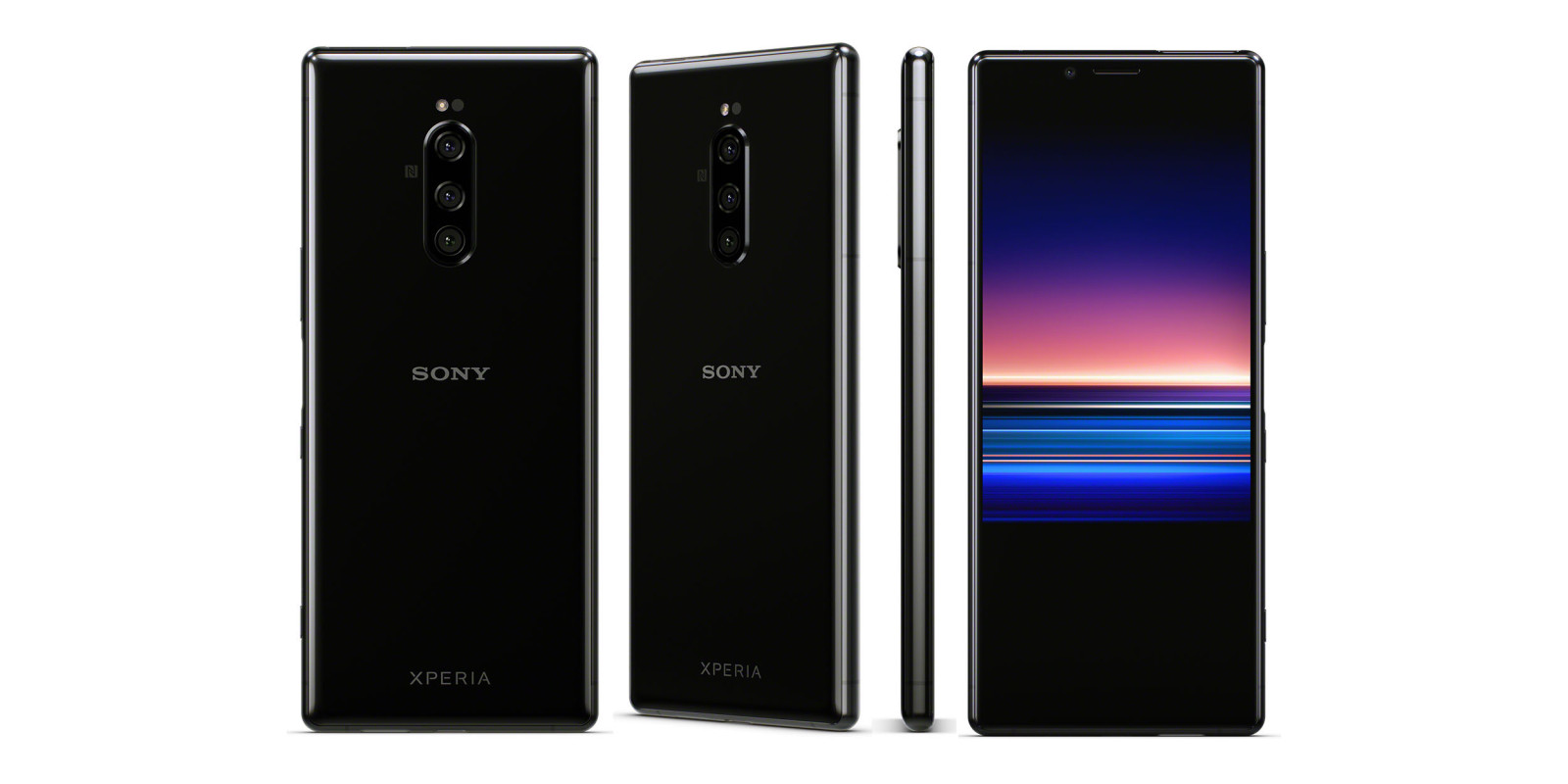 Sony Starts New With Its Xperia 1 Flagship With 21:9 Cinematic 4k Oled Screen & Triple Cameras