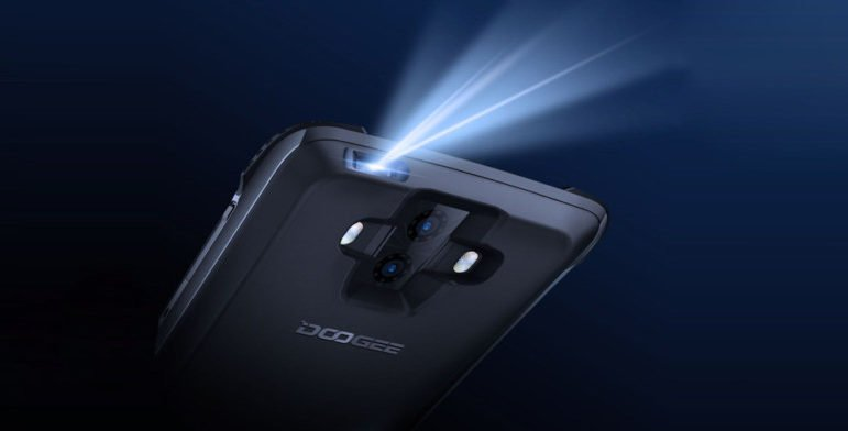 Doogee S90 Introduces Two New Modules For The  Projector And 2 Environment