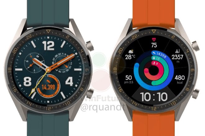 Huawei To Unveil Two Non-wearos Smartwatches Alongside P30