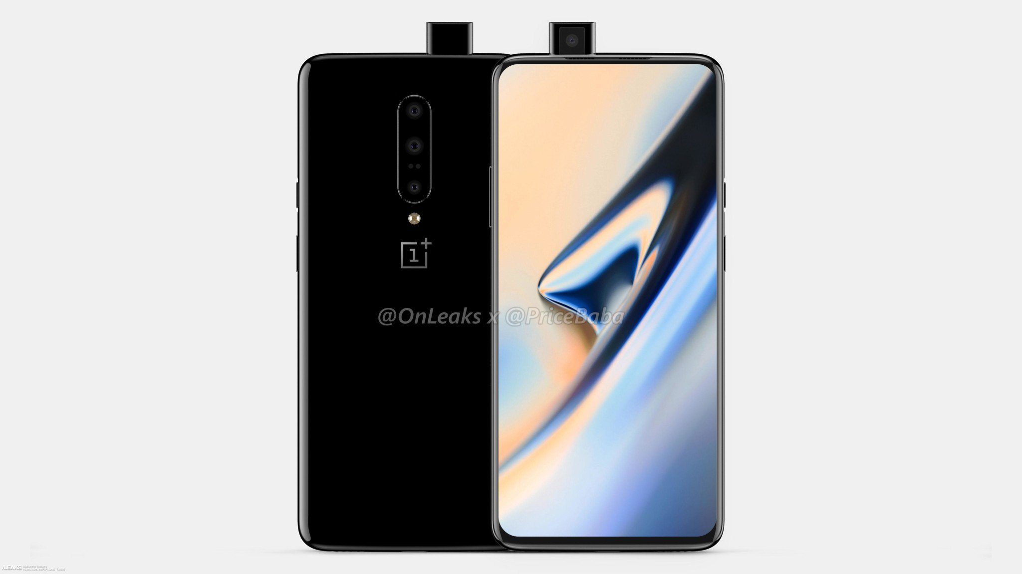 Oneplus 7 Hands-on Leaked Picture Shows Pop-up Front Digital Camera And A Notch-less Screen