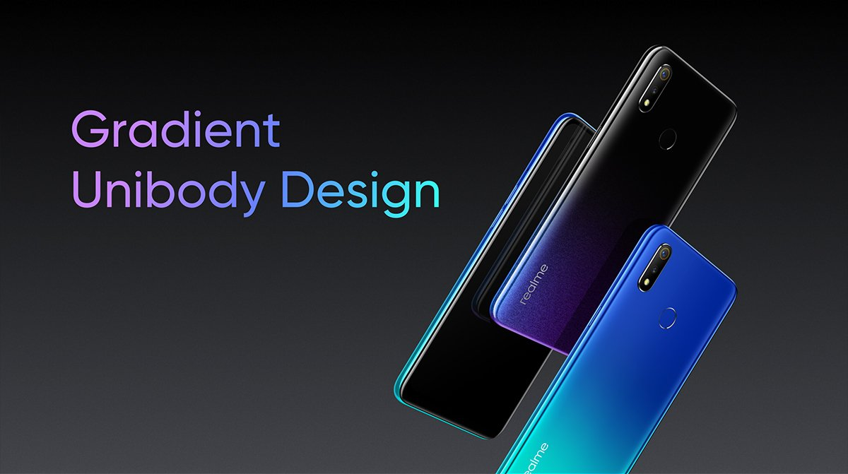 Realme 3 With Waterdrop Notch Screen And Helio P70 Introduced