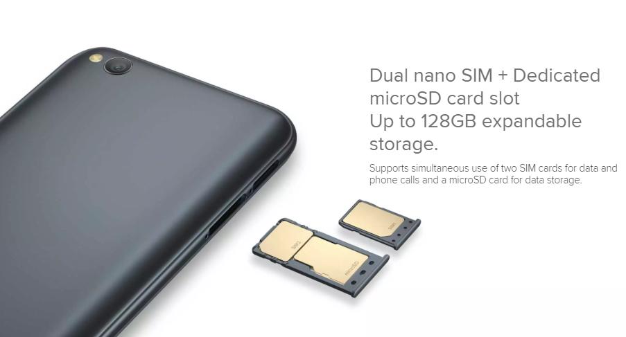 Redmi-Go-Dedicated-MicroSD-card-slot