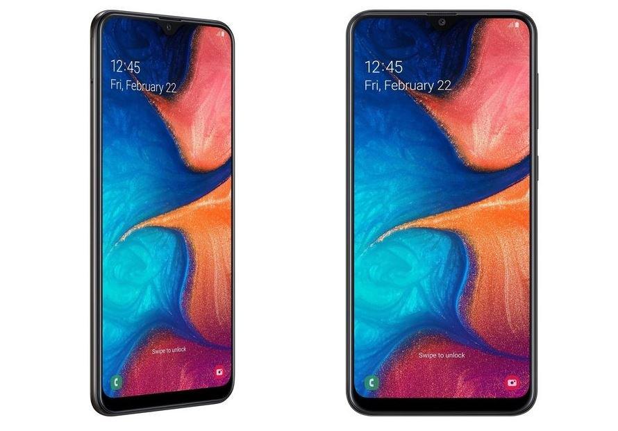 Samsung Galaxy A20 with Exynos 7884