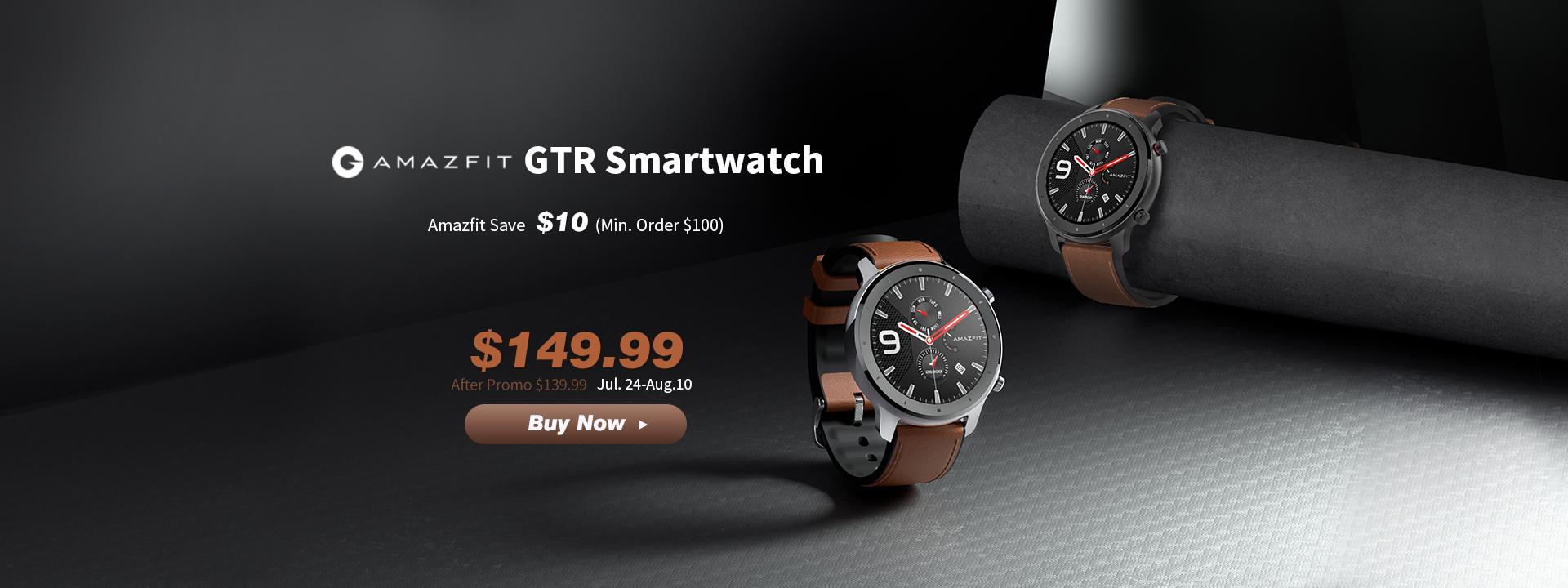 Amazfit GTR smartwatch for Just $139.99 2