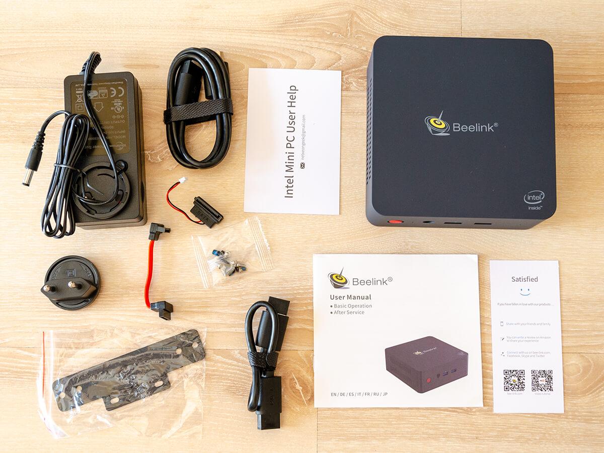 Beelink-L55-mini-PC-unboxing