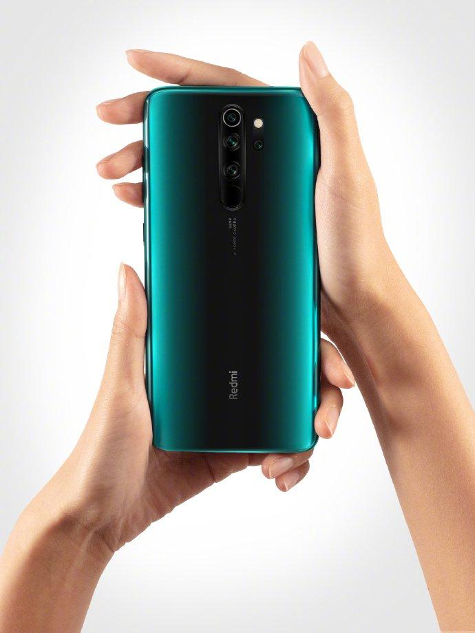 Green Redmi Note 8 Pro 1