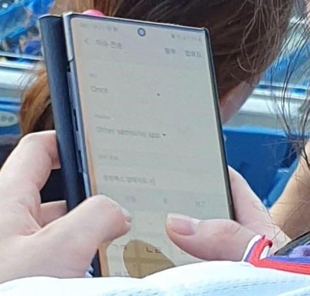 Samsung Galaxy Note 10+ Prototype