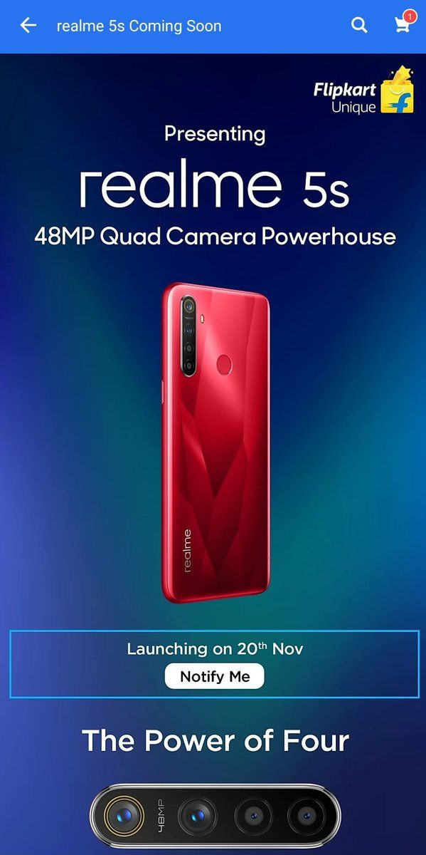 Realme 5s full specifications leaked before launch