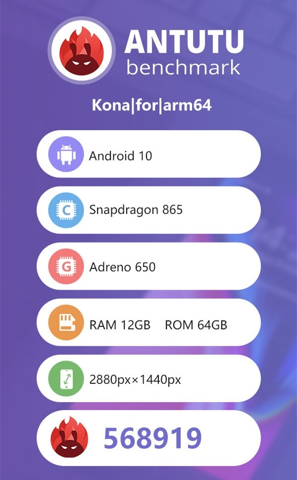 Snapdragon 865 shows blows away the competition on Antutu Benchmark