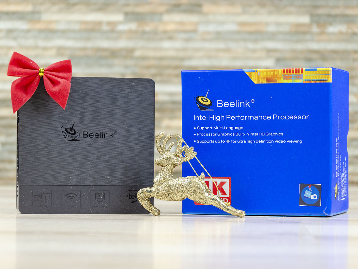 Beelink BT4 box front device