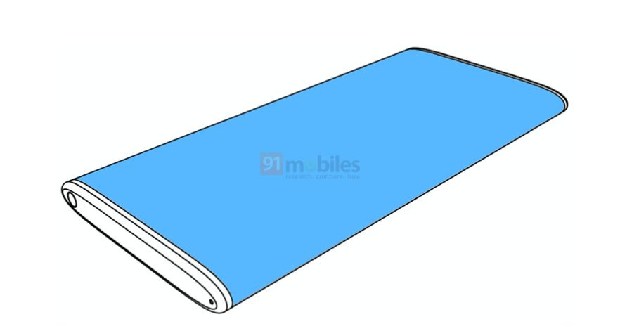 Xiaomi patents a fresh surrounding panel telephone, might be a commercial version of Mi MIX Alpha 2